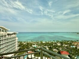 Grand Hyatt Baha Mar suite balcony view